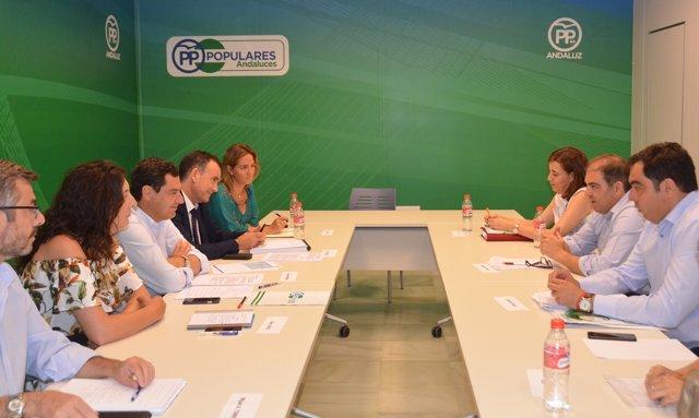 Reunión del PP-A y ATA.