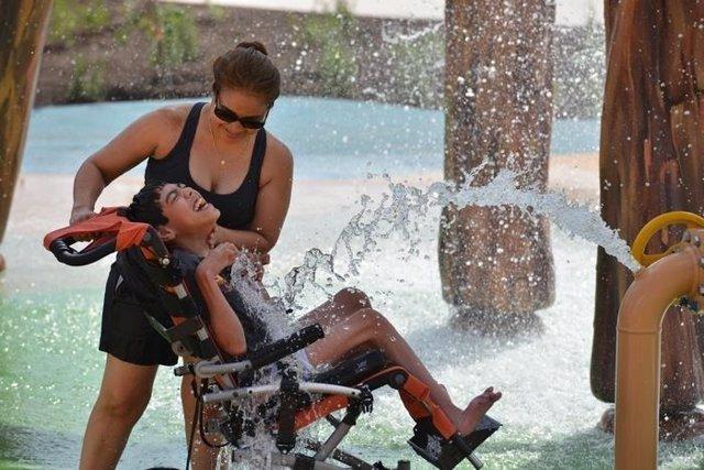 Morgan's Inspiration Island, el parque acuático 100% accesible para discapcitado