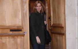 Los funcionarios del juzgado no pasaron el mismo control que los abogados el día que se grabó a la Infanta