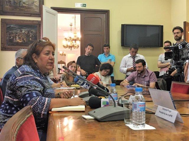 Griselda Triana, viuda del periodista mexicano asesinado Javier Valdez