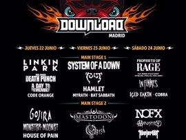 """Download Festival Madrid espera a 35.000 personas por día para convertirse en """"referente en el sur de Europa"""""""