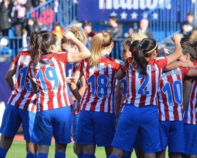 Atlético femenino LaLiga Iberdrola Vicente Calderón