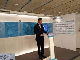 Albiol acusa a Puigdemont de comparar el proceso soberanista con la lucha contra ETA