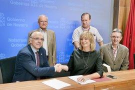 Gobierno de Navarra y Euskaltzaindia firman un convenio de colaboración para 2017