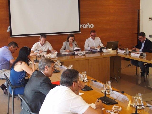 Reunión Plan Infraestructuras Ayuntamiento
