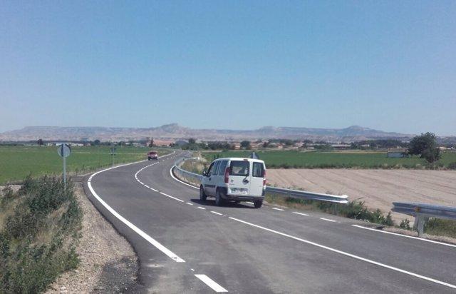 Ndp. La Diputación De Zaragoza Termina El Arreglo De La Carretera De Acceso A No