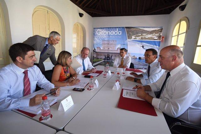 Reunión de los presidentes socialistas de las diputaciones andaluzas