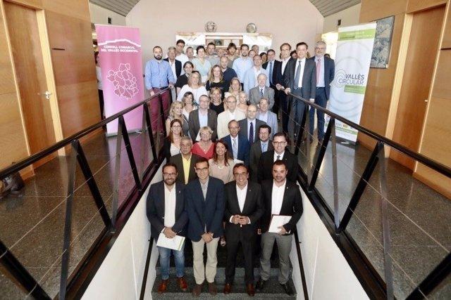 El Govern, la Diputación y el CCVOC acuerdan incorporar la economía circular