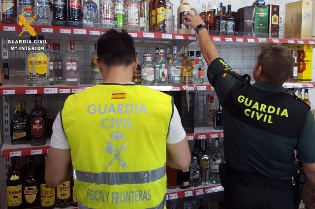 La Guardia Civil interviene diverso género de contrabando