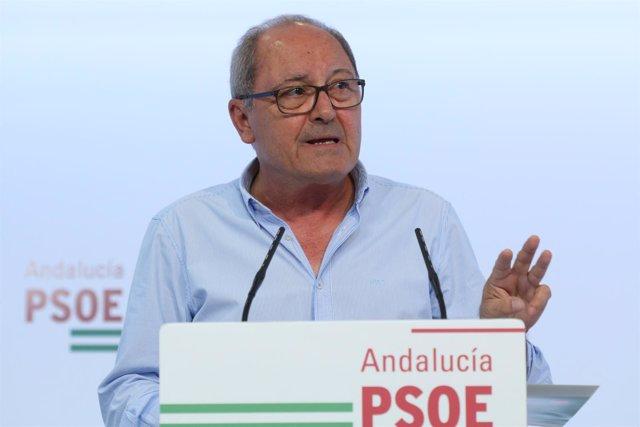 Juan Cornejo, hoy en rueda de prensa