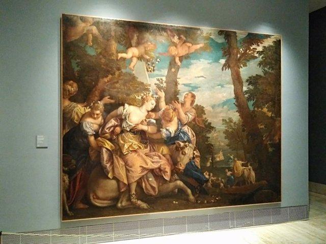 Cuadro, Thyssen, El rapto de europa, veronés, renacimiento, Venecia