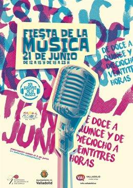 Cartel de la Fiesta de la Música de 2017