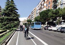 El Ayuntamiento organiza este domingo 13 itinerarios ciclistas y un acto lúdico central en la Plaza de Oriente