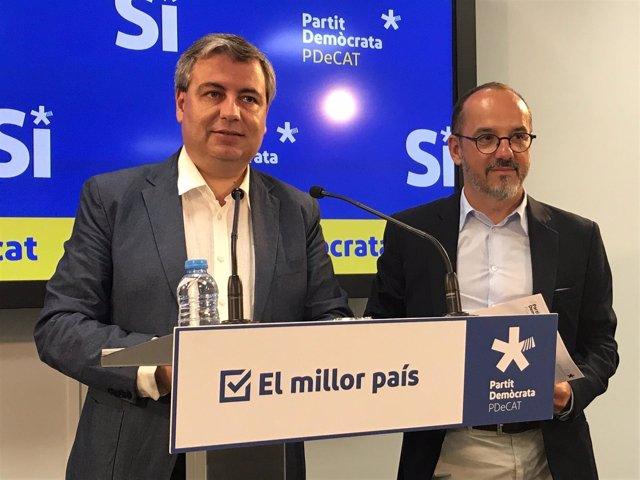 J.Xuclà y C.Campuzano, PDeCAT