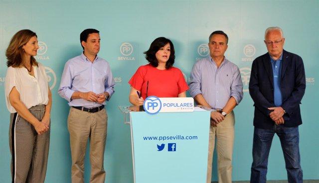 """El PP de Sevilla """"suspende"""" a Susana Díaz."""