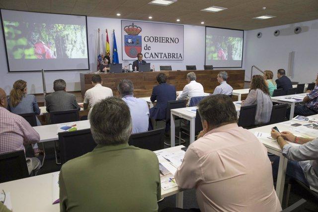 Reunión de la Red Cántabra de Municipios del Camino