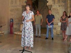 """La Aljafería es un """"escenario inmejorable"""" para el Festival de Poesía porque es """"la sede de la palabra"""""""