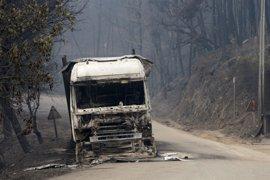 Identificadas 24 de las 62 víctimas mortales de los incendios de Portugal