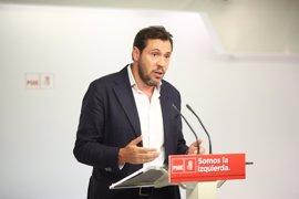 El portavoz del PSOE se disculpa con Page por haber deseado su dimisión: fue un 'calentón'
