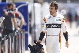 """Fernando Alonso: """"Tras otro abandono vamos a Bakú con más determinación"""""""