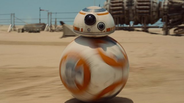 BB-8 en Star Wars: El despertar de la fuerza