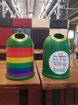 Reciclaje en WorldPride