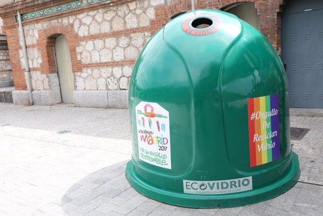 Reciclaje en el WorldPride