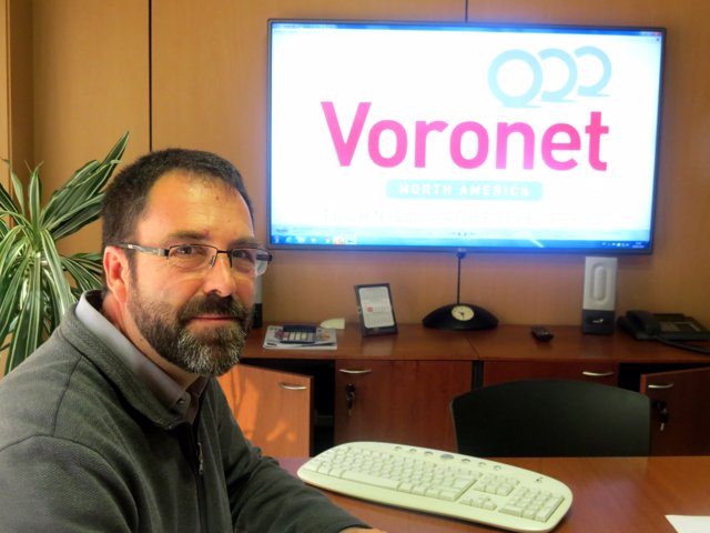 Eduard Papell, gerente de Voronet