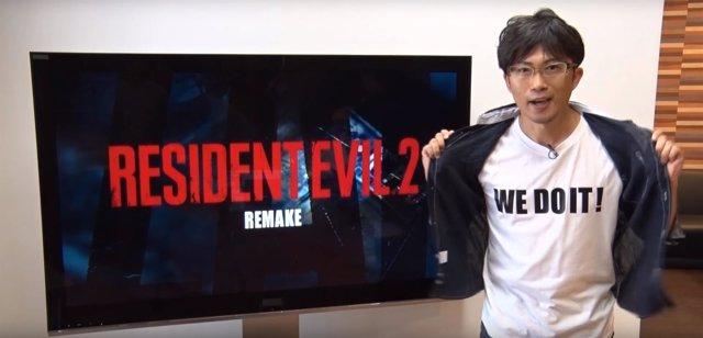 Teaser de Resident Evil 2 Remake, de Capcom