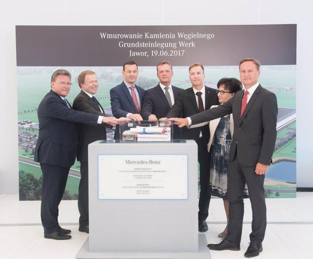 Inicio de la construcción de la planta de motores de Jawor (Polonia)