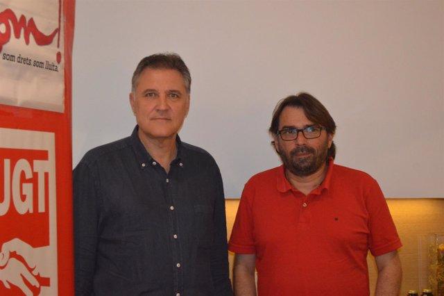 José Luis Aguilà y Camil Ros