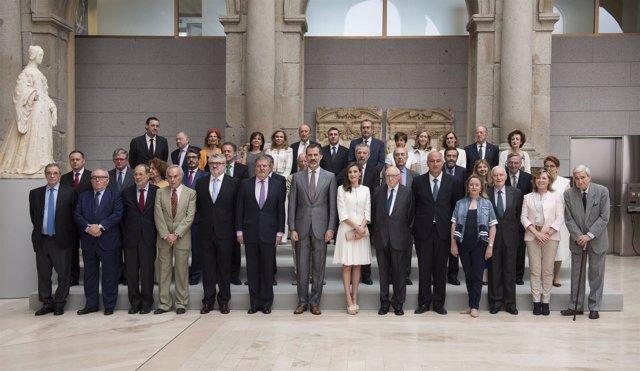 La comisión Nacional para el II Centenario del Museo del Prado