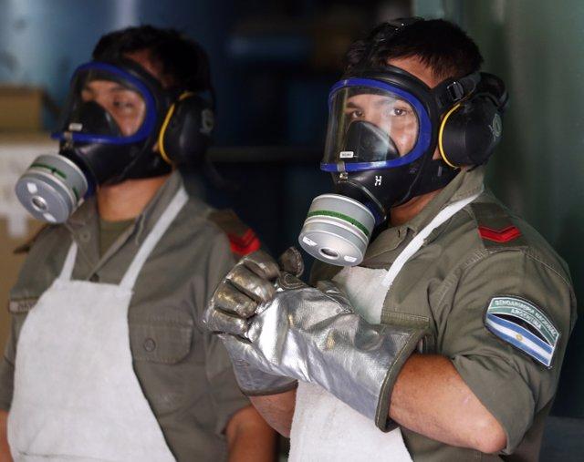 Policía antidroga  Argentina