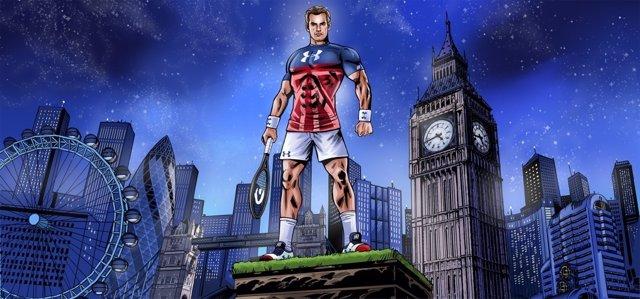 Andy Murray, superhéroe deportivo