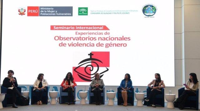 Un momento del seminario sobre Observatorios de Violencia de Género