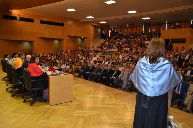 Acto de graduación en CEU Andalucía