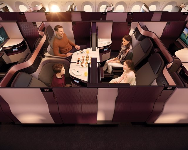 QATAR AIRWAYS PRESENTA  'QSUITE'