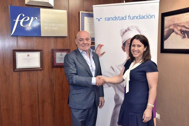 La FER renueva compromiso Fundación Randstad