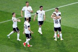 Alemania vence sufriendo ante Australia