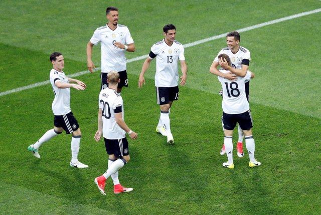 Alemania selección alemana Copa Confederaciones Rusia 2017