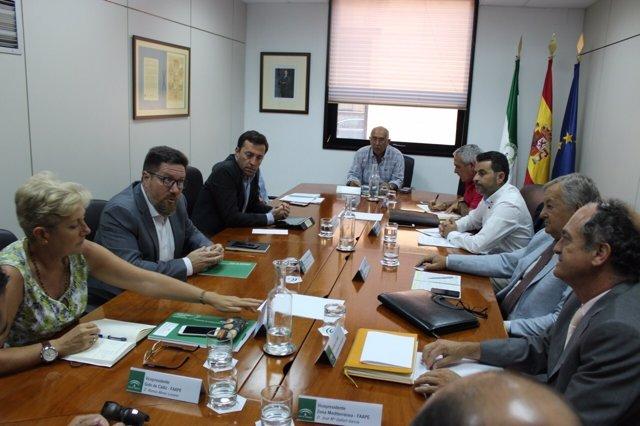 Rodrigo Sánchez mantiene su primera reunión con Faape y Facope