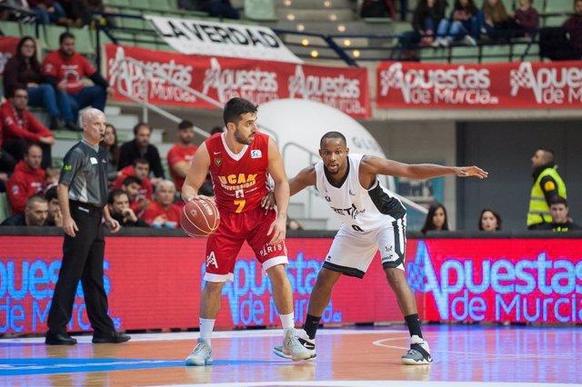 Campazzo da aire a UCAM Murcia en un recital ante RETAbet Bilbao Basket