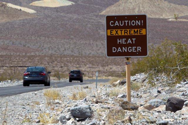 Ola de calor en el suroeste de Estados Unidos