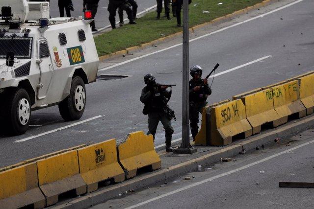Manifestaciones Caracas 19-20 junio
