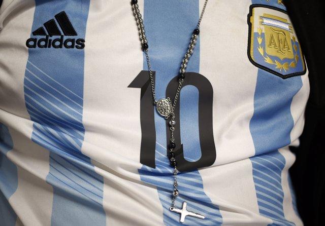 Camiseta de la selección de fútbol de Argentina