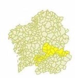 Aviso en Galicia porn tempeaturas superiores a los 36º.
