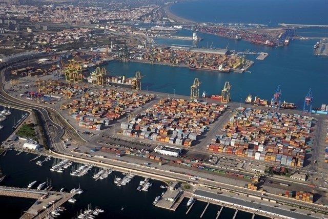 Imagen de archivo del puerto valenciano