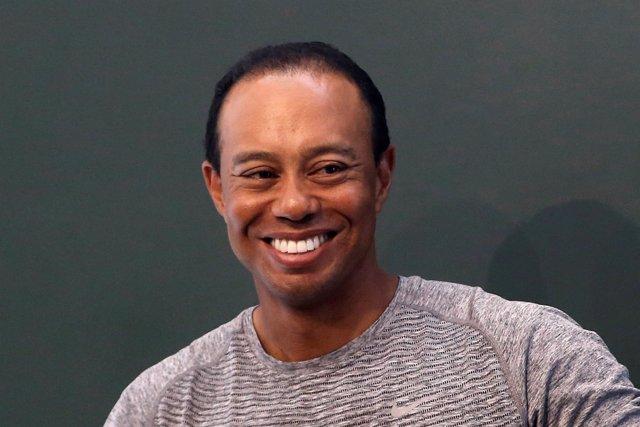 El golfista estadounidense Tiger Woods