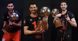 Rafa Martínez, Guillem Vives y San Emeterio renuevan con el Valencia Basket