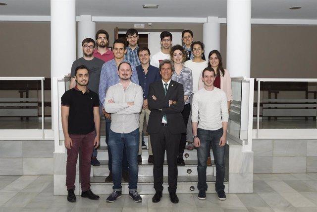 El presidente del Colegio de Médicos con miembros de la Mesa de Formación
